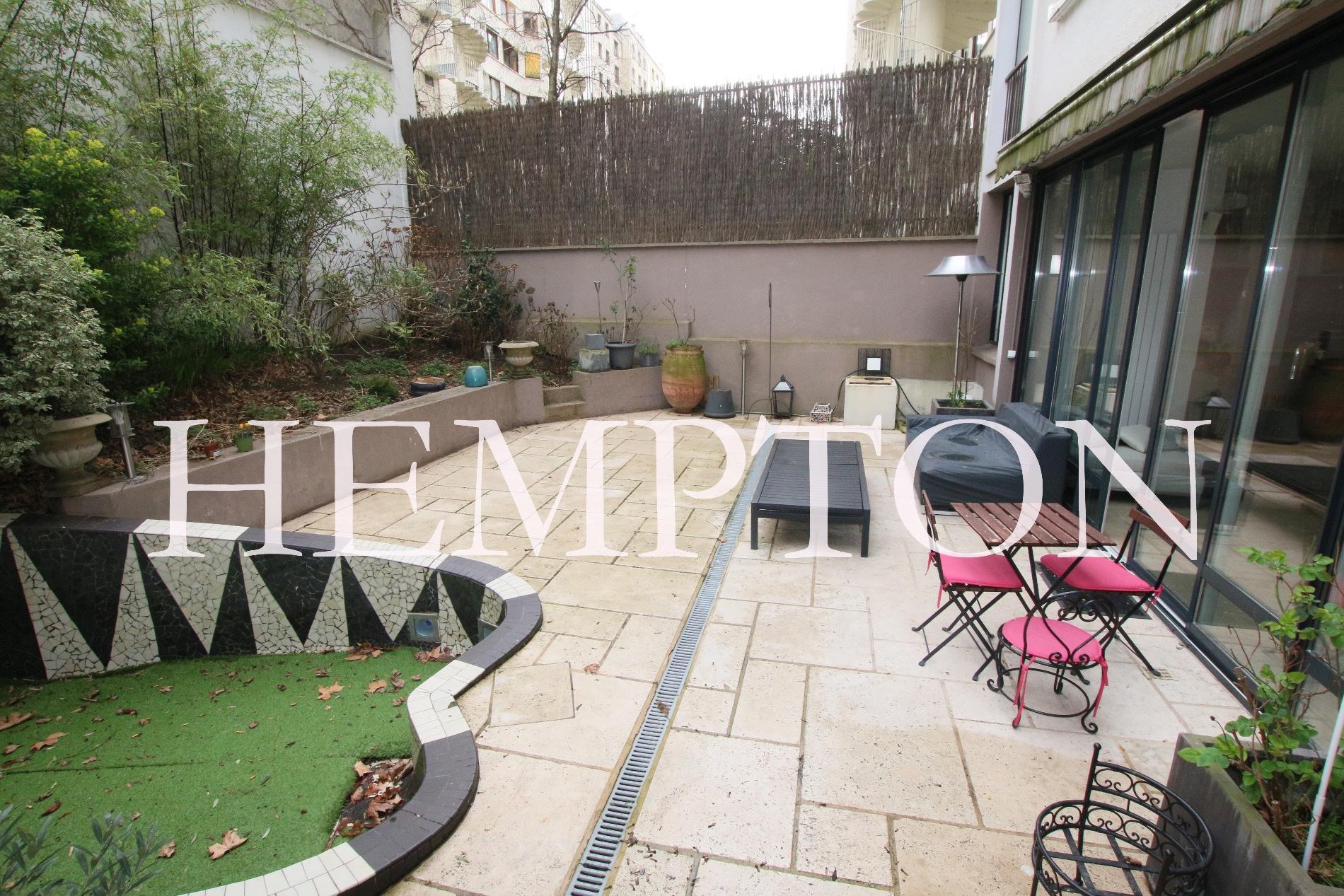 vente baisse de prix 2 pi ces appartement atypique avec jardin privatif xvie suchet. Black Bedroom Furniture Sets. Home Design Ideas